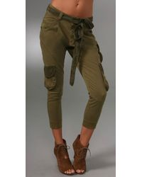 Siwy | Green Valentine Cargo Pants | Lyst