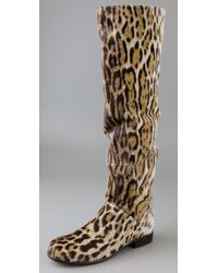 Stuart Weitzman | Multicolor Backup Calf Hair Boot | Lyst