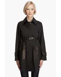Theory | Black Cedrica Coliseum Coat | Lyst