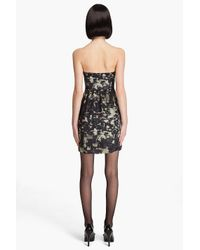 Theory | Black Kendy Abstract Print Dress | Lyst