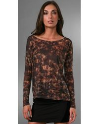 Torn By Ronny Kobo | Brown Roxy Sparks Tee | Lyst