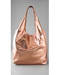 Twelfth Street Cynthia Vincent - Metallic Grocery Bag - Lyst