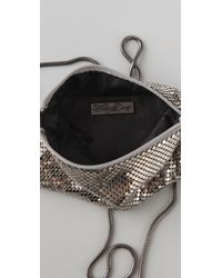 Whiting & Davis | Metallic Classic Cross Body Bag | Lyst
