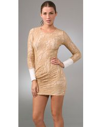 A.L.C. - Natural Lace Dress - Lyst