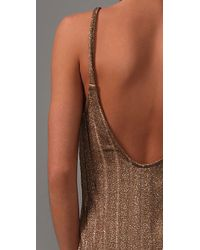 Bec & Bridge | Dune Metallic Slip Dress | Lyst