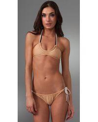 Brette Sandler Swimwear | Pink Maggie Halter Bikini | Lyst