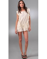 Brette Sandler Swimwear | Natural Roxie Tunic Cover-up | Lyst