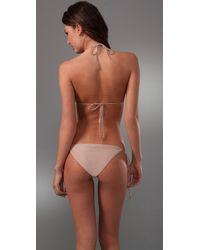 Cali Dreaming - Natural String Bikini - Lyst