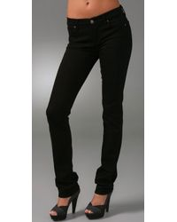 Citizens of Humanity | Black Elson Mid Rise Straight Leg Jeans | Lyst