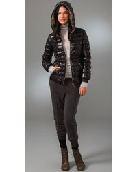 Duvetica - Black Padded Jacket - Lyst