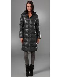 Duvetica | Gray Alia Long Coat | Lyst