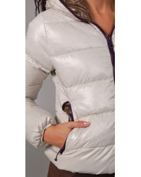 Duvetica - White Thia Hooded Jacket - Lyst