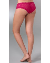 Hanky Panky | Pink Cheeky Hipster | Lyst
