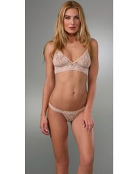 Hanky Panky | Natural Stretch Lace Soft Bra | Lyst