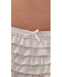 Honeydew Intimates - Natural Ruffle Rumba Boy Shorts - Lyst