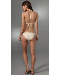Inca - Natural Riley Fringe Bikini - Lyst