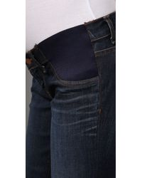 J Brand - Blue Heritage Maternity Jeans - Lyst