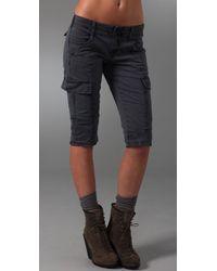 J Brand | Blue Houlihan Cargo Short | Lyst