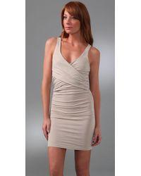 James Perse | White Crisscross Tank Dress | Lyst