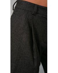 Jenni Kayne - Gray Jodhpur Shorts - Lyst