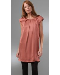 Joie - Brown Chateau Sandwashed Dress - Lyst