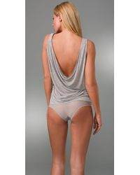 Kiki de Montparnasse | Gray Intime Backless Tank | Lyst