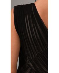 Kirrily Johnston   Black Apocalypto Gathered Dress   Lyst