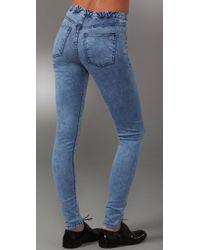 Kova & T | Blue New Denim Leggings | Lyst