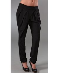 L.A.M.B. | Black Silk Pants | Lyst