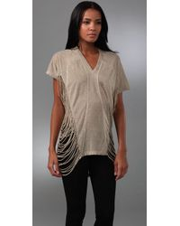 L.A.M.B. | Natural Gold Tunic | Lyst