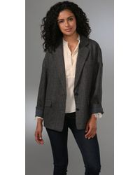 Marc By Marc Jacobs | Gray Reilly Herringbone Blazer | Lyst