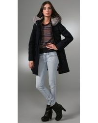 Marc By Marc Jacobs - Blue Parker Twill Coat - Lyst