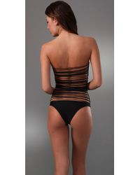Mikoh Swimwear - Black Sting Back Swimsuit - Lyst