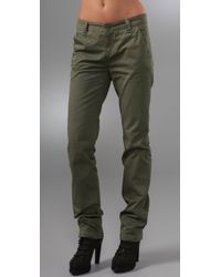 Rag & Bone | Green The Loose Chinos | Lyst