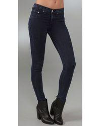 Rag & Bone | Blue Legging Jeans | Lyst