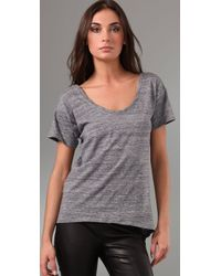 Rebecca Minkoff - Gray Amour Tee - Lyst
