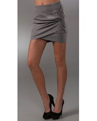 Robert Rodriguez | Gray Twisted Ponte Skirt | Lyst