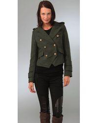 Smythe | Green Cadet Jacket | Lyst