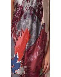 Tibi - Purple Viola Strapless Dress - Lyst