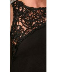Tony Cohen - Black One Shoulder Dress - Lyst