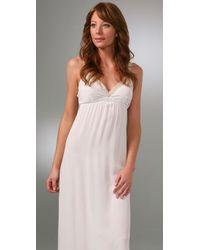 Twelfth Street Cynthia Vincent - White Lace Slip Long Dress - Lyst