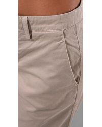 Vince | Natural Slouchy Boyfriend Pants | Lyst