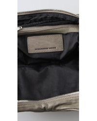Alexander Wang | Green Brenda Zip Chain Bag | Lyst