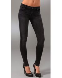 Citizens of Humanity - Blue Slick Skinny Legging Jeans - Lyst