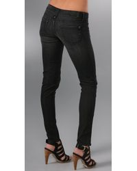 Genetic Denim - Black James Zipper Skinny Jeans - Lyst