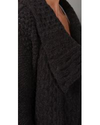Graham & Spencer | Black Cashmere Cardigan Sweater | Lyst
