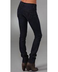 James Jeans - Blue Tom 5 Pocket Straight Leg Jeans - Lyst