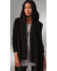 La Fee Verte - Black Cardigan Sweater - Lyst