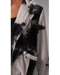 Leyendecker - White Velvet Blazer - Lyst