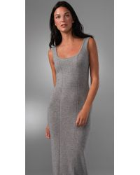 Rachel Pally - Gray Tank Long Sweater Dress - Lyst